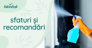 Dezinfectanți mâini și dezinfectanți suprafețe 10 recomandări - NaturaFresh - Sfaturi și recomandări