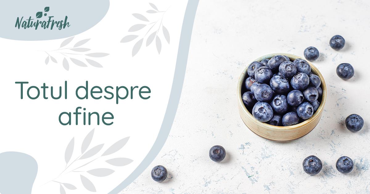 Totul despre afine 4 beneficii și recomandări, pentru un plus de sănătate - NaturaFresh - Afine