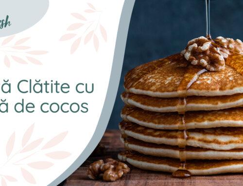 Rețetă cocos – Clătite cu făină de cocos
