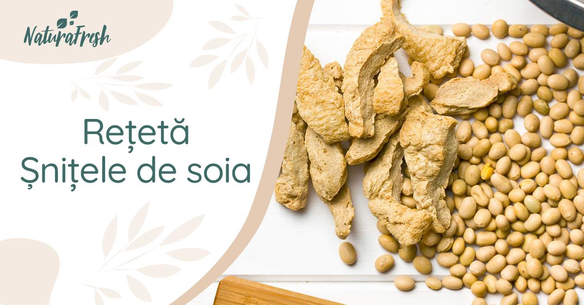 Șnițele de soia rețetă - NaturaFresh - Șnițele de soia