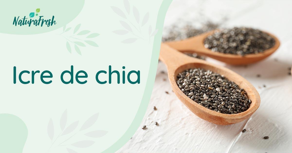 Rețetă Icre de chia - NaturaFresh - Icre de chia