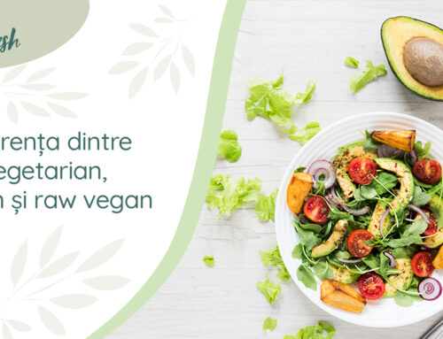 Diferența dintre vegetarian, vegan și raw vegan