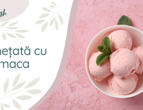 Rețetă superalimente – Înghețată cu maca