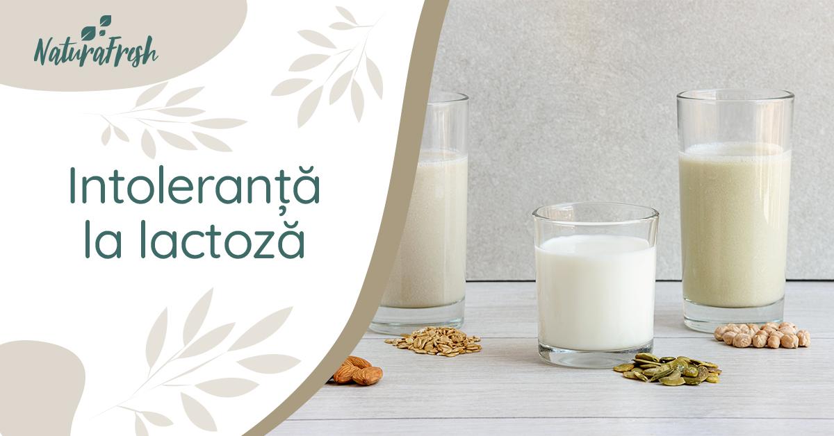 Produse fără lactoză - NaturaFresh - Intoleranță la lactoză