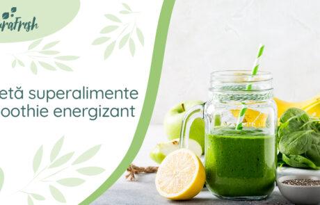 Rețetă superalimente Smoothie energizant - NaturaFresh - Smoothie energizant
