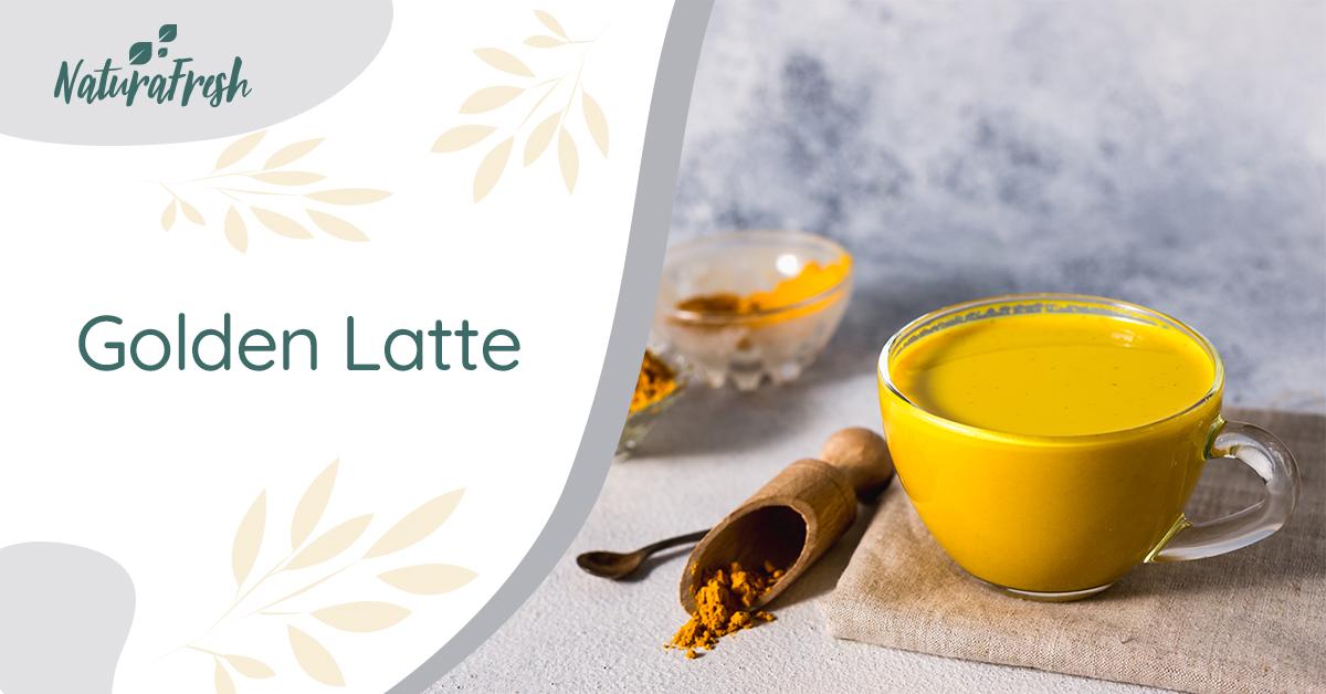Rețetă turmeric Golden latte - NaturaFresh - Golden latte