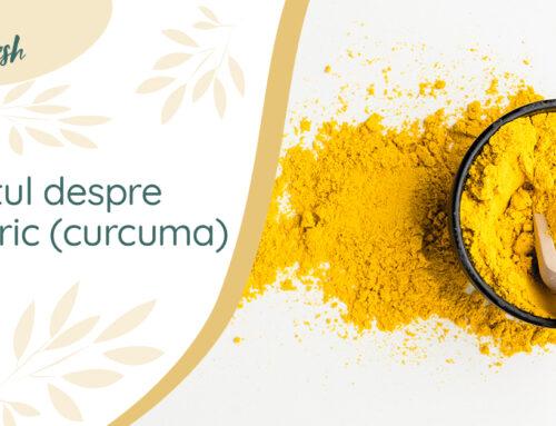 Totul despre turmeric (curcuma) – 6 beneficii și recomandări