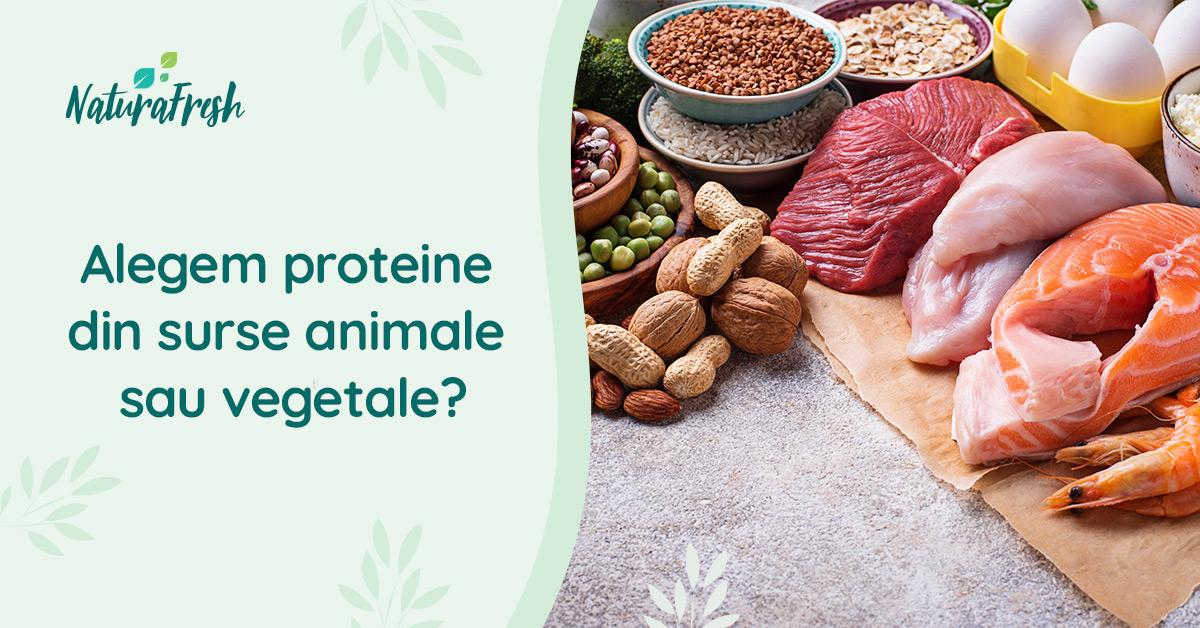Alegem proteine din surse animale sau vegetale? - NaturaFresh - Produse bogate în proteine