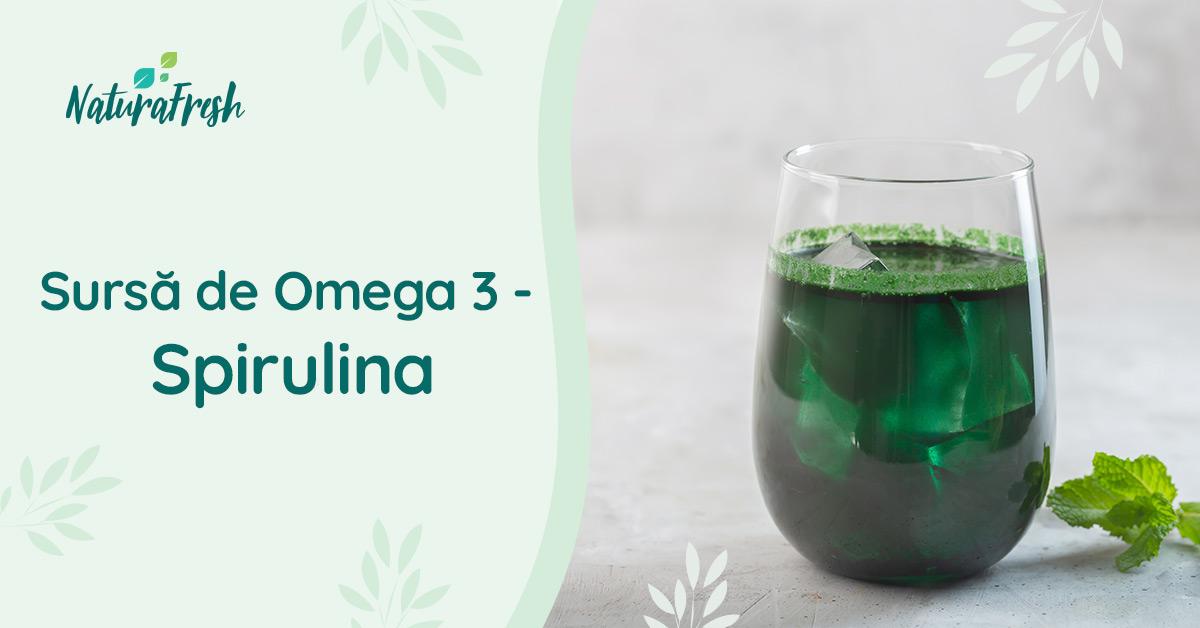 Beneficii Omega 3 - NaturaFresh - Sursă de omega 3 spirulina