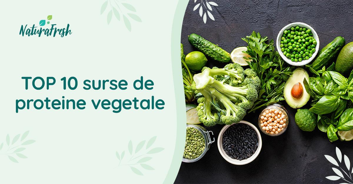 TOP 10 surse proteine vegetale - Spirulina sursa de proteina - NaturaFresh
